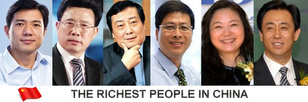 Richest People In China 2011