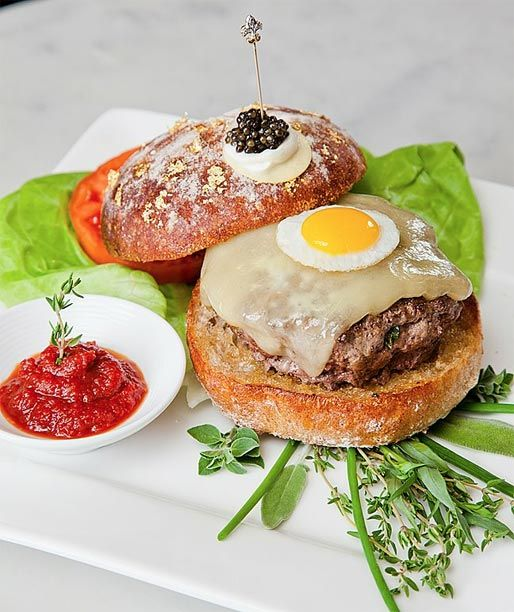 World's Most Expensive Burger – Guinness Book of World Records