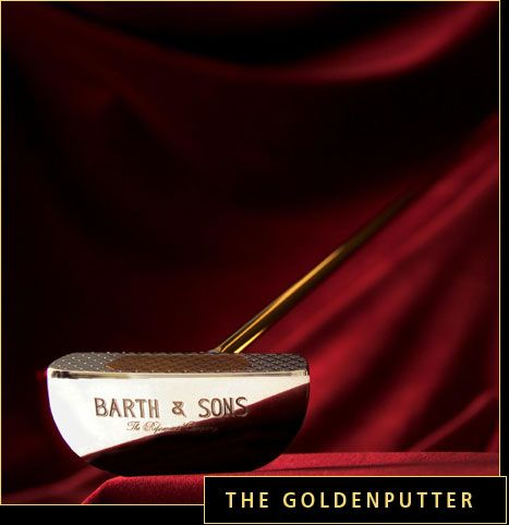 Barth Sons Golden Putter First Lady Special Edition
