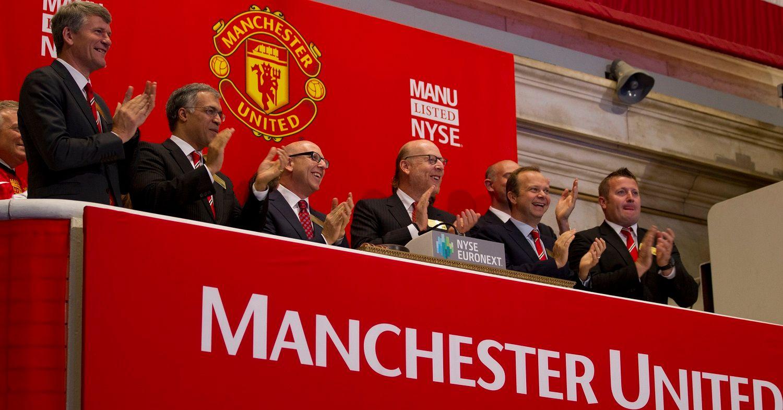 new york stock exchange manchester united ile ilgili görsel sonucu