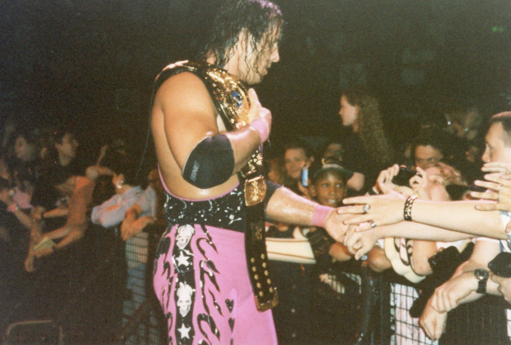 9. Bret Hart, Kane, Mankind: 1 day