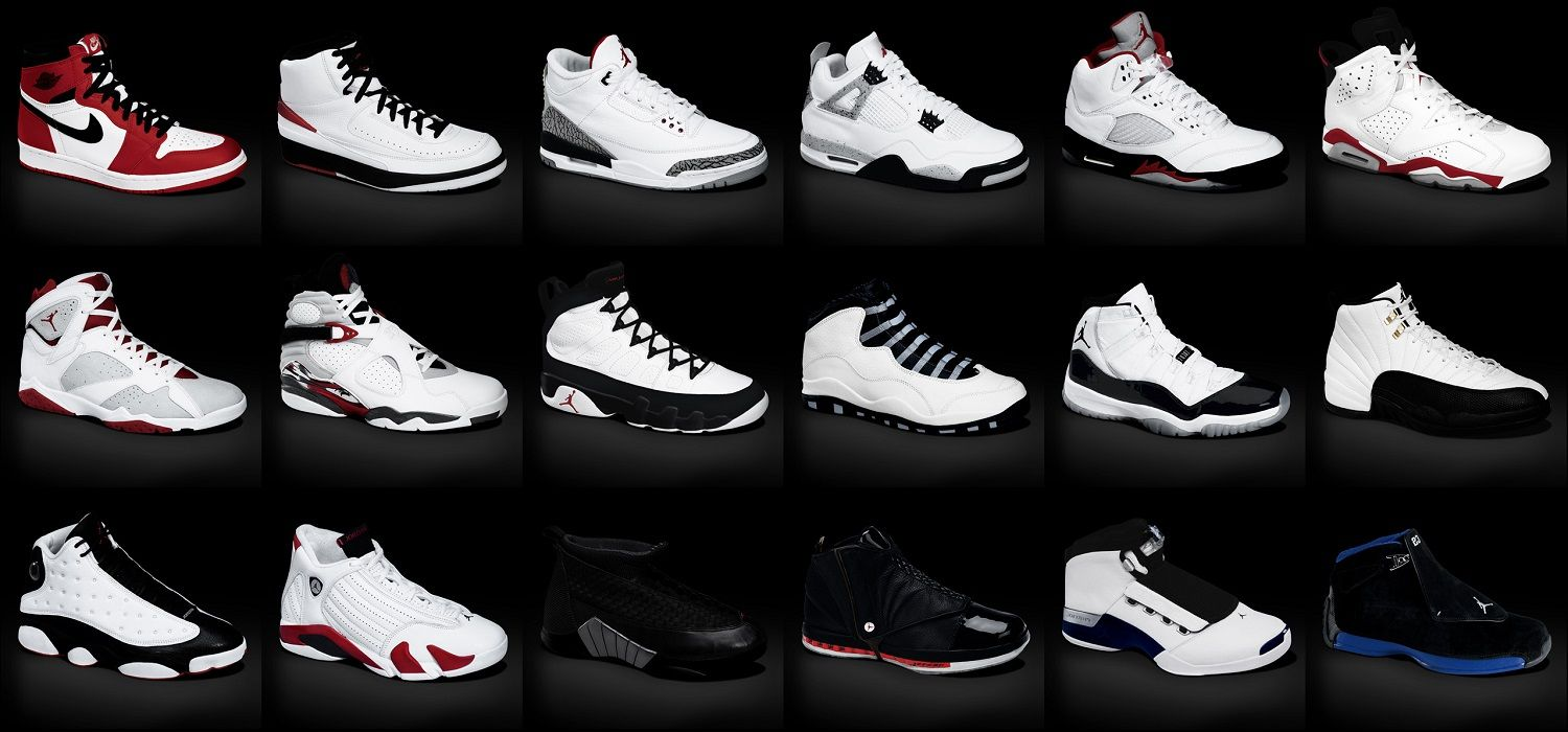 pictures of all air jordans