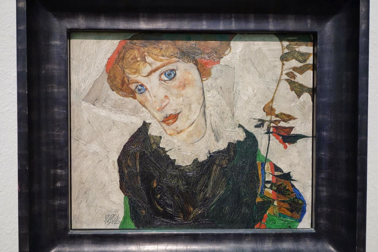 Egon Schiele - Portrait of Wally Neuzil (1a)