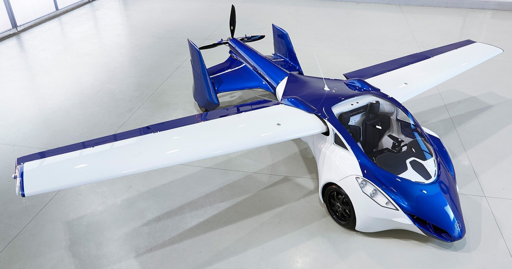 Aeromobil Flying Roadster Unveiled at Top Marques Monaco