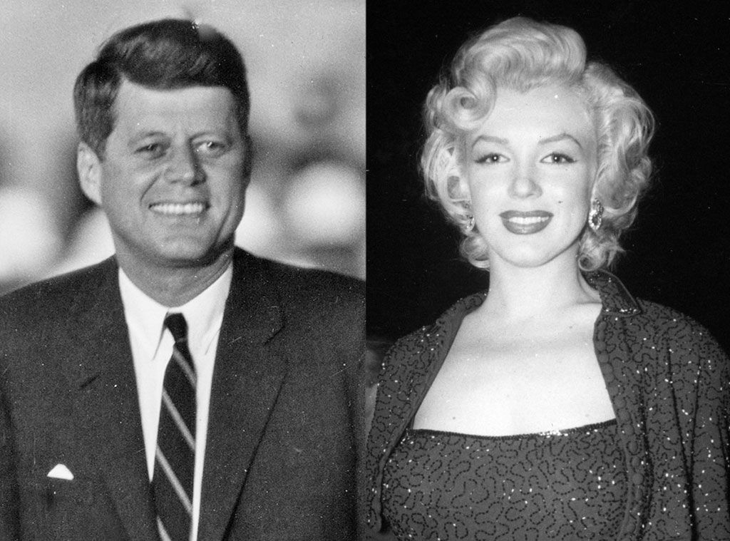 10. Marilyn Monroe and The Kennedys