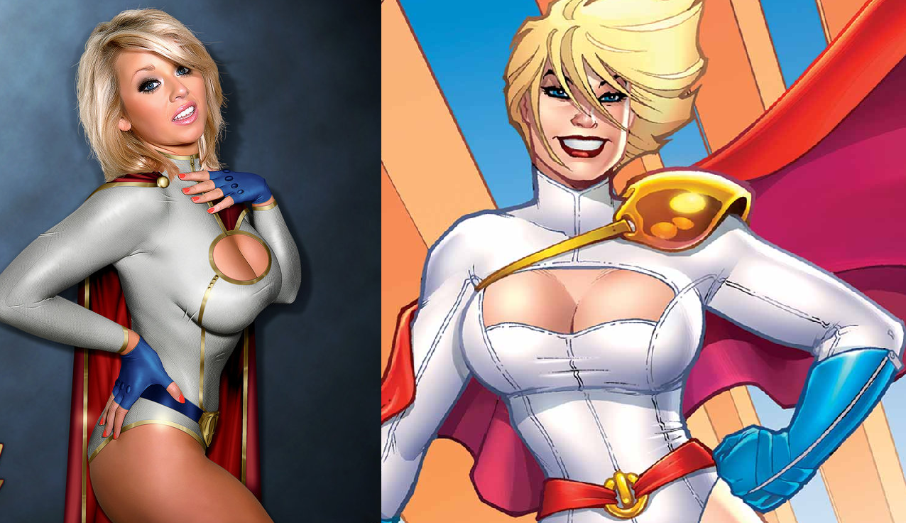 12 Most Ridiculously Revealing Superheroine Costumes