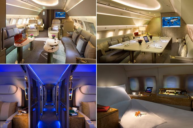 15 Most Luxurious High Class Airline Cabins