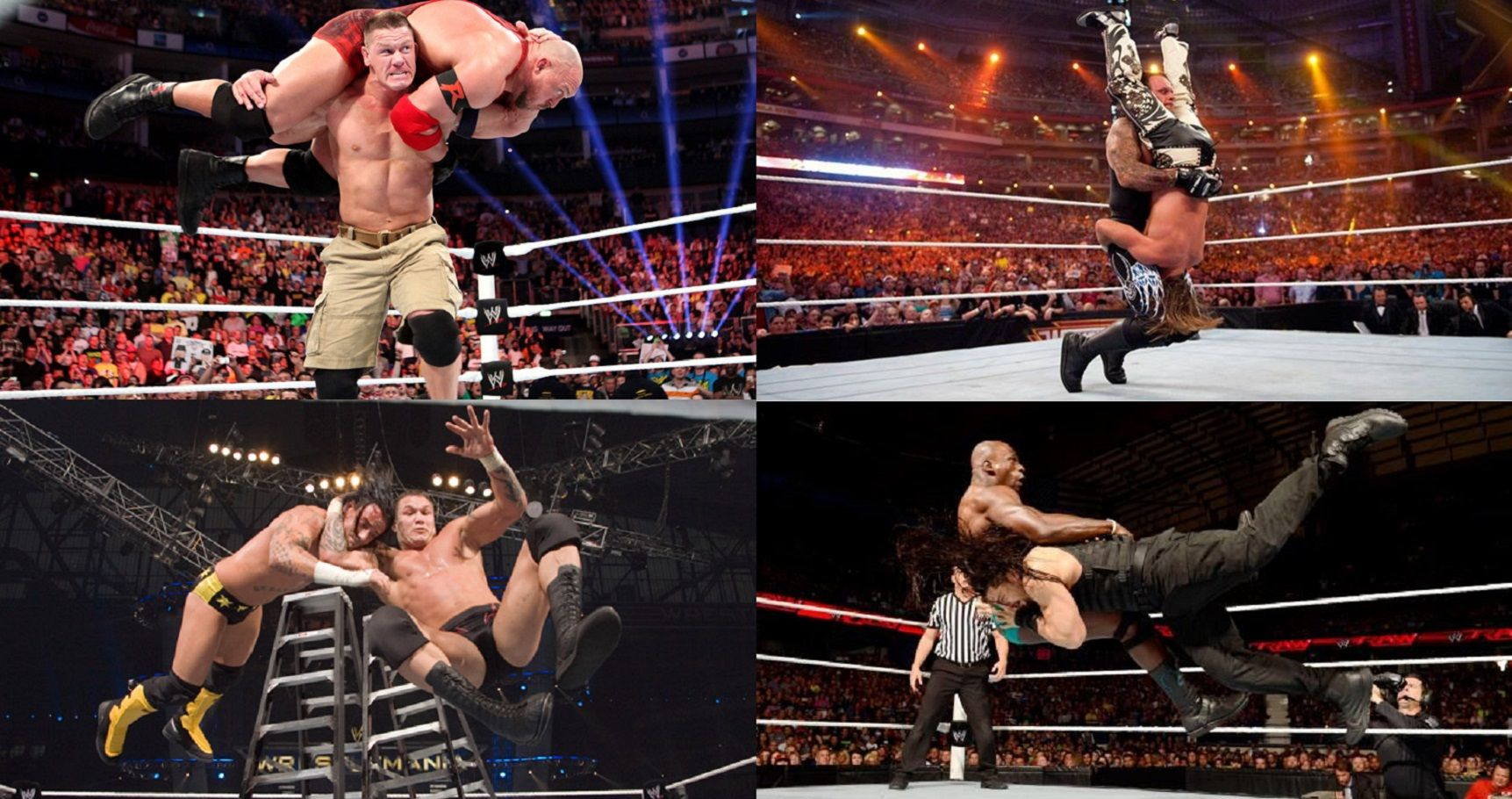 Ranking The Top 30 Finishing Moves In WWE