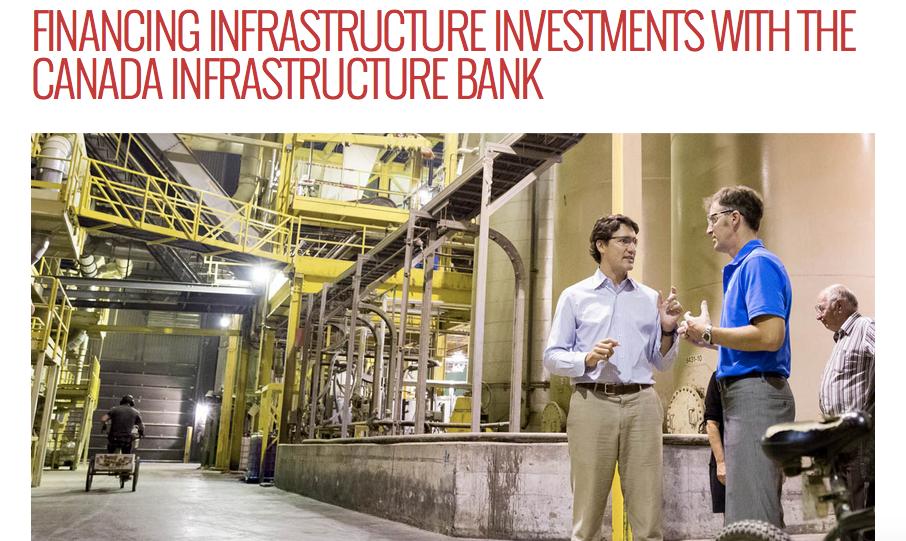 7. Trudeau Has Pledged To Create ANew Infrastructure Bank