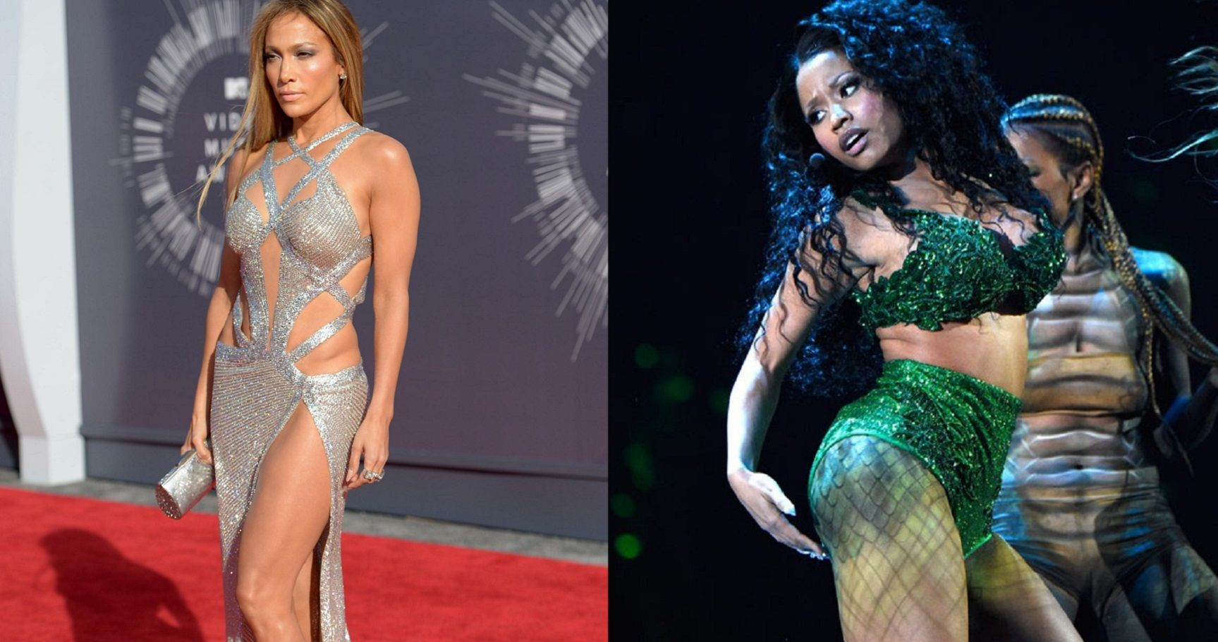 The 15 Hottest MTV VMA Looks Of All Time