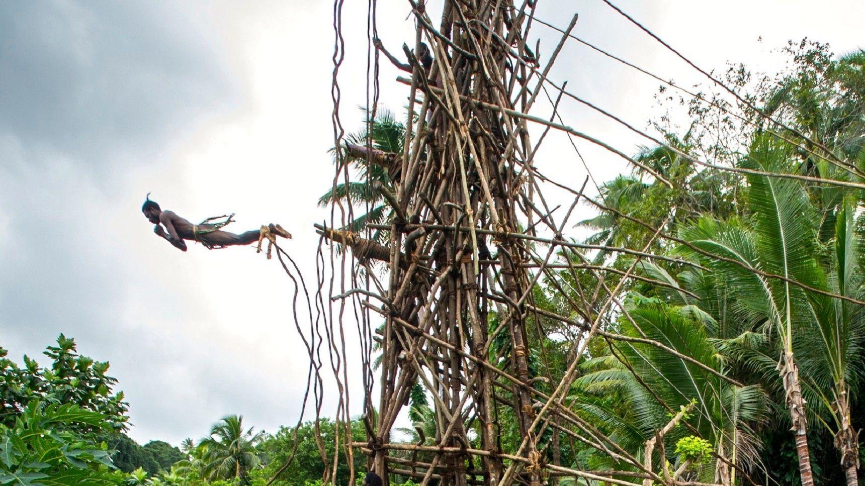 3. Vanuatu Land Diving