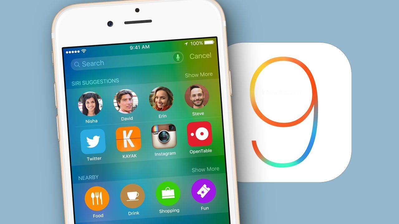 Top 10 New Features Of iOS 9
