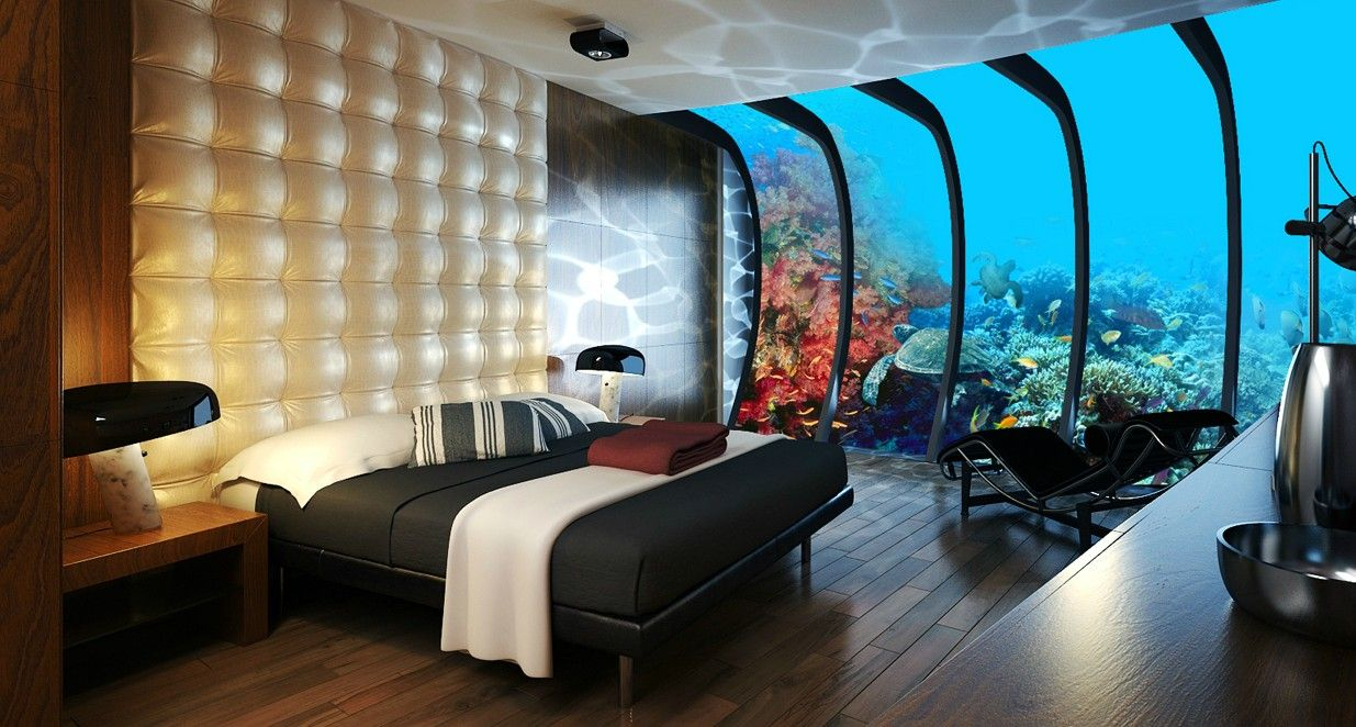10 Most Impressive Underwater Hotels Around The World