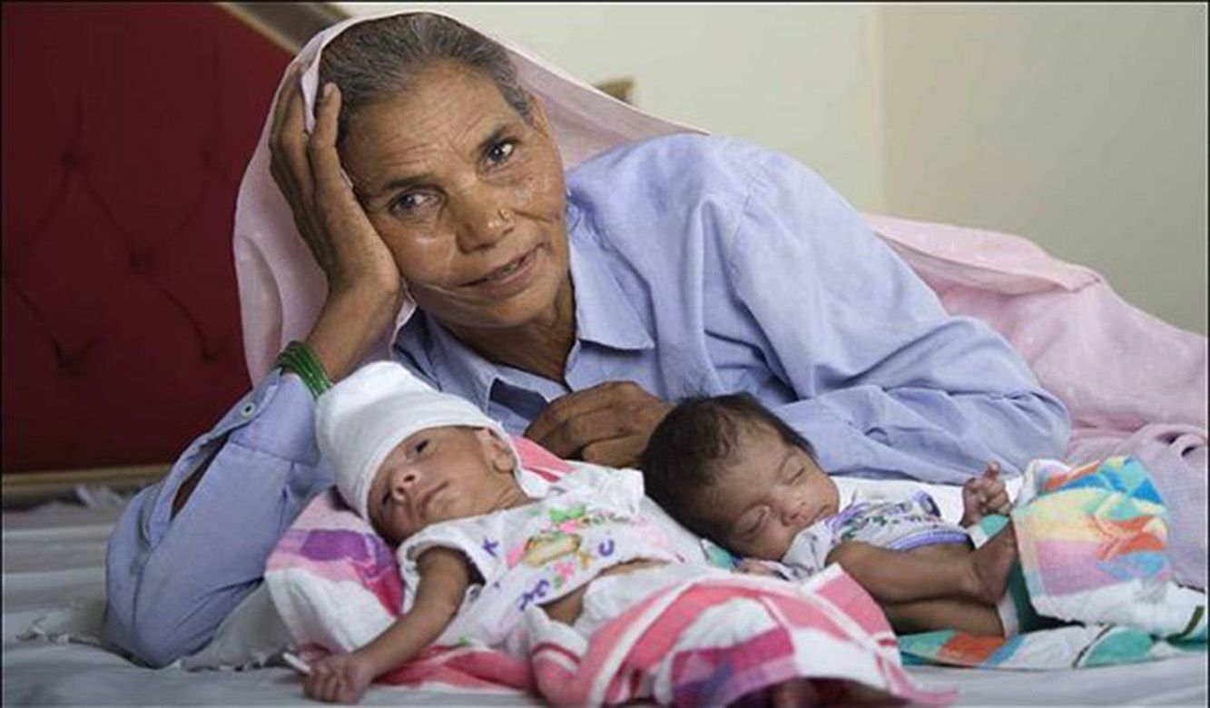 The 11 Oldest People In The World To Give Birth