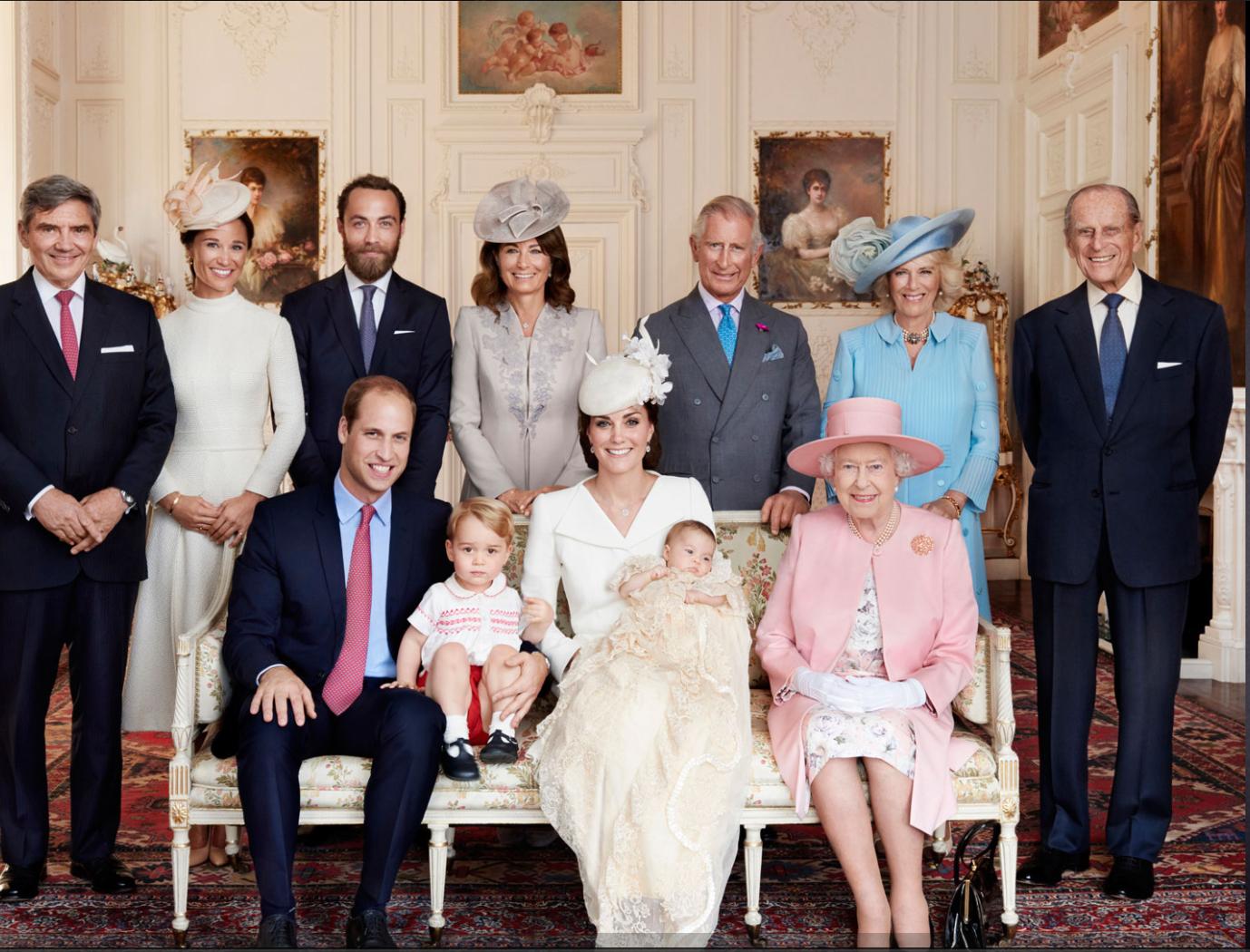 Королоевская семья Великобритании