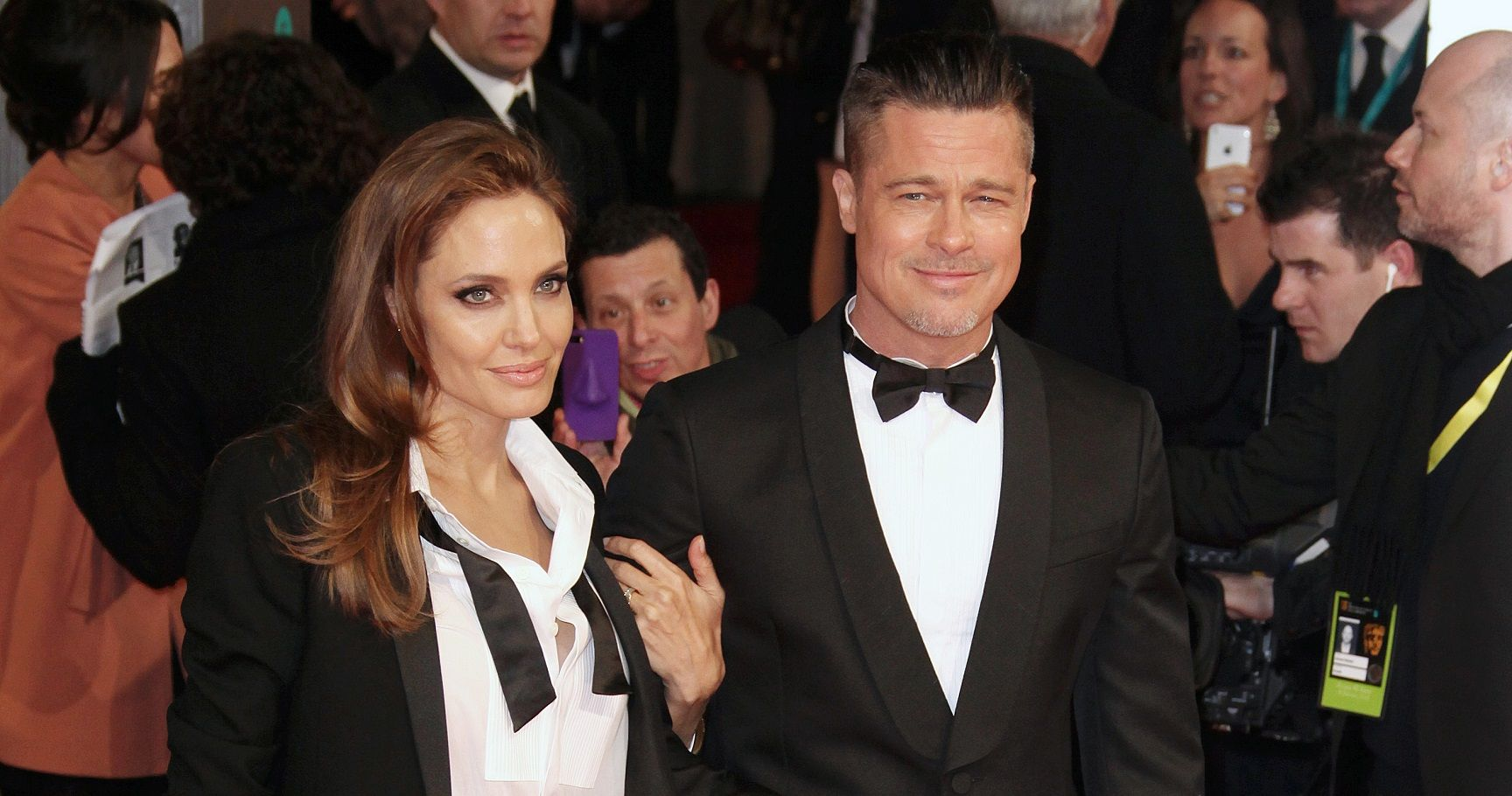 "Angelina Jolie Admits ""Brad and I Have Our Issues ..."