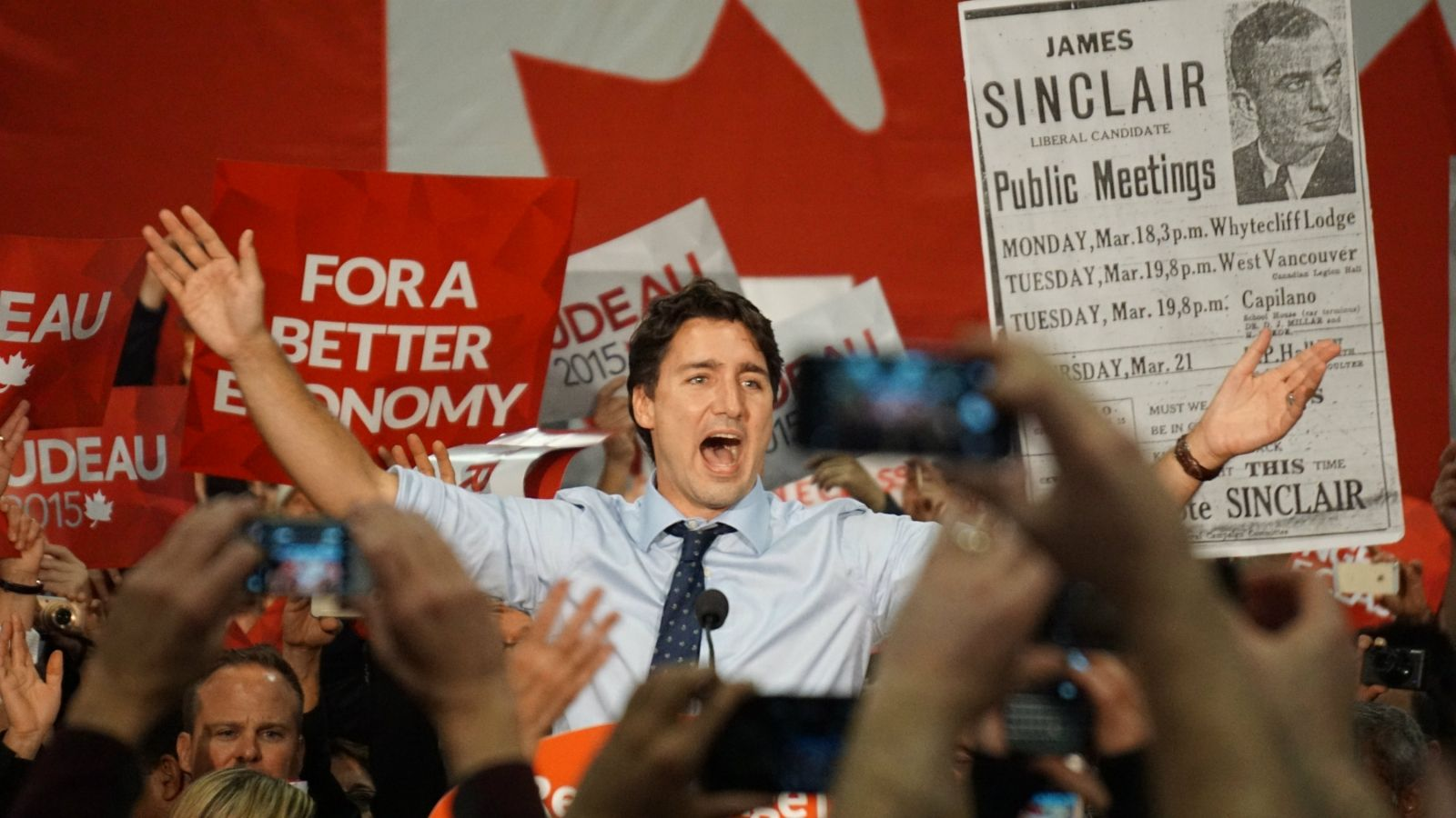 1. He Wants Change, And So Do Canadians