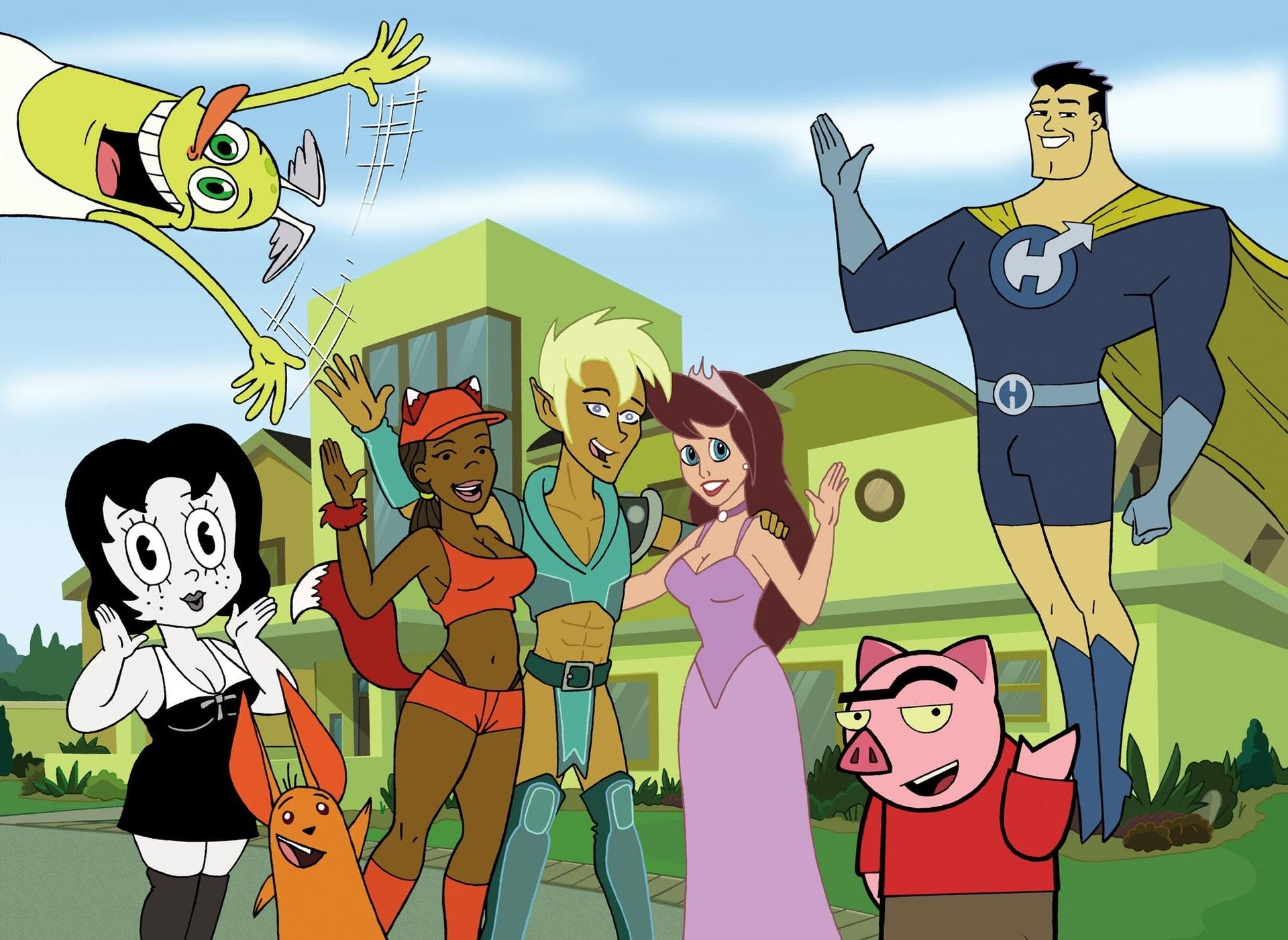 1. Drawn Together
