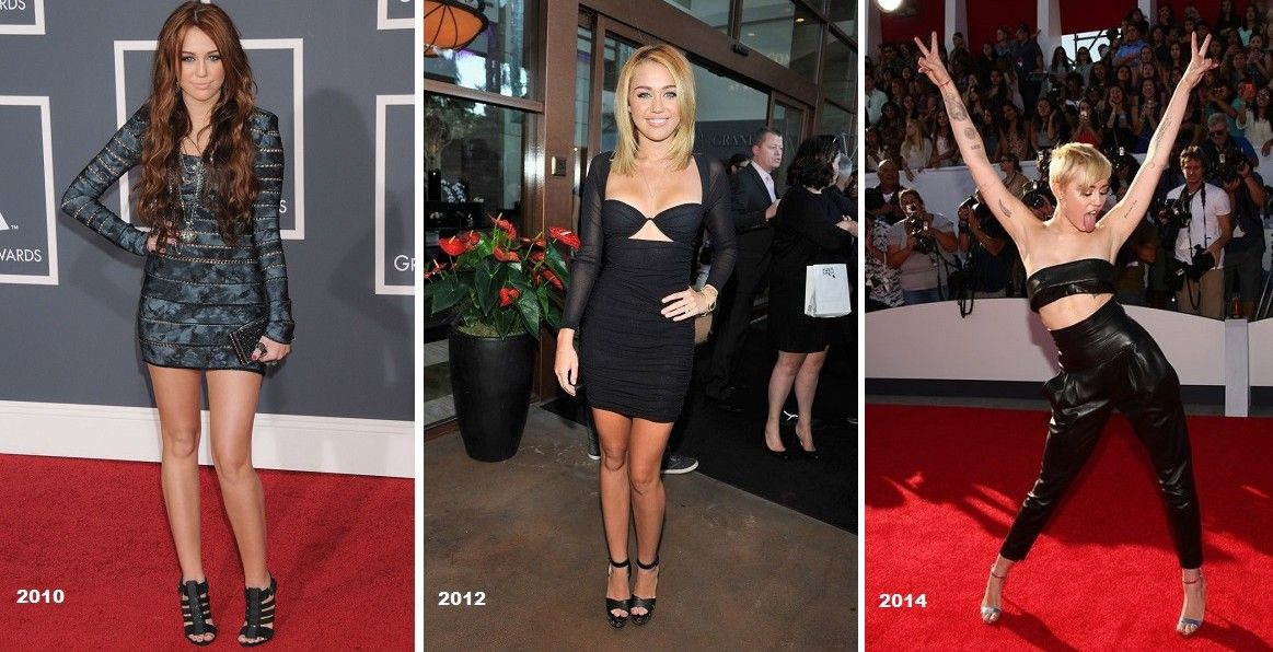12 Shockingly Normal Photos Of Miley Cyrus Over The Years