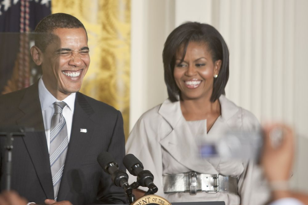 10. Michelle Obama, The First 'Man!'