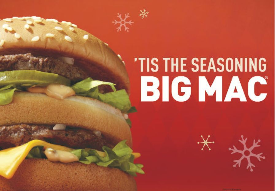 4. McDonald's Is Open on Christmas Day