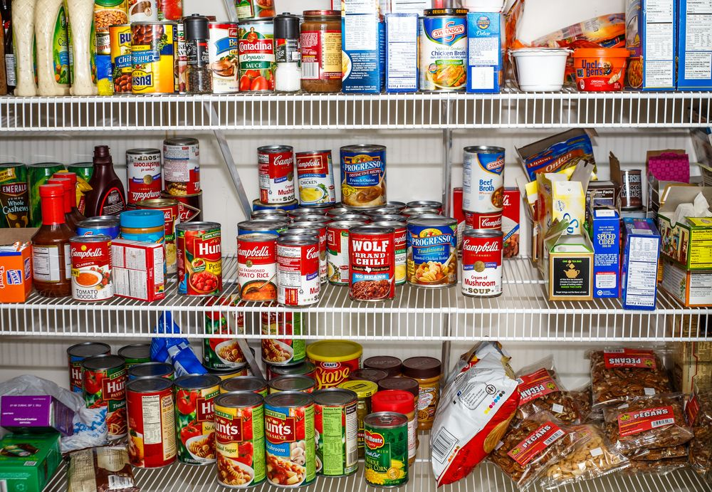 13) Stock Up On Non-Perishable Foods