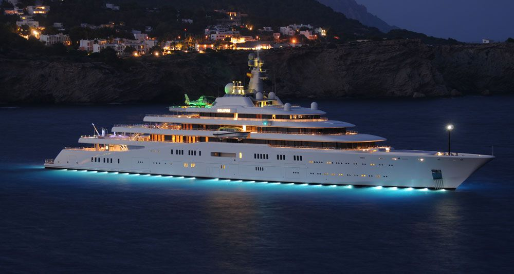 12 Of The World's Most Expensive Yachts