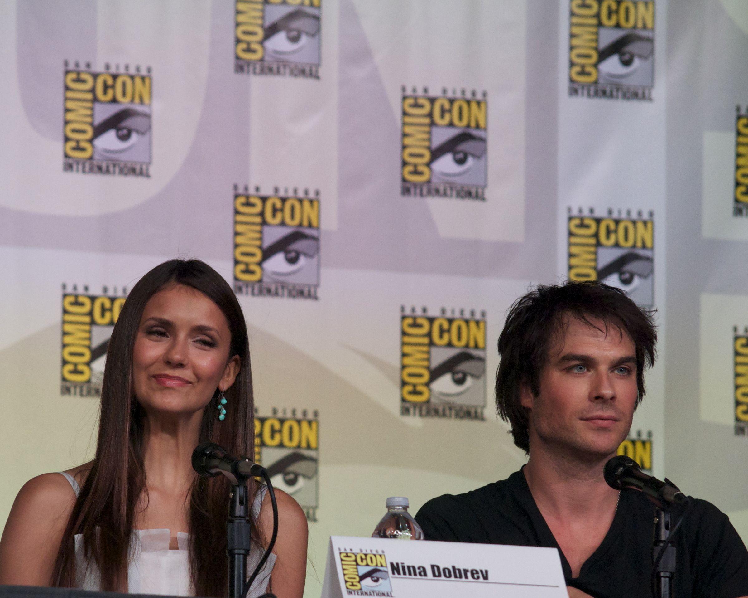 "Comic-Con Internatonal: San Diego 2012 - Day 3 - ""The Vampire Diaries"" Panel"