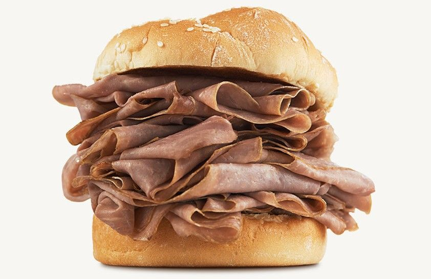 Arbys Meat Before Cooked