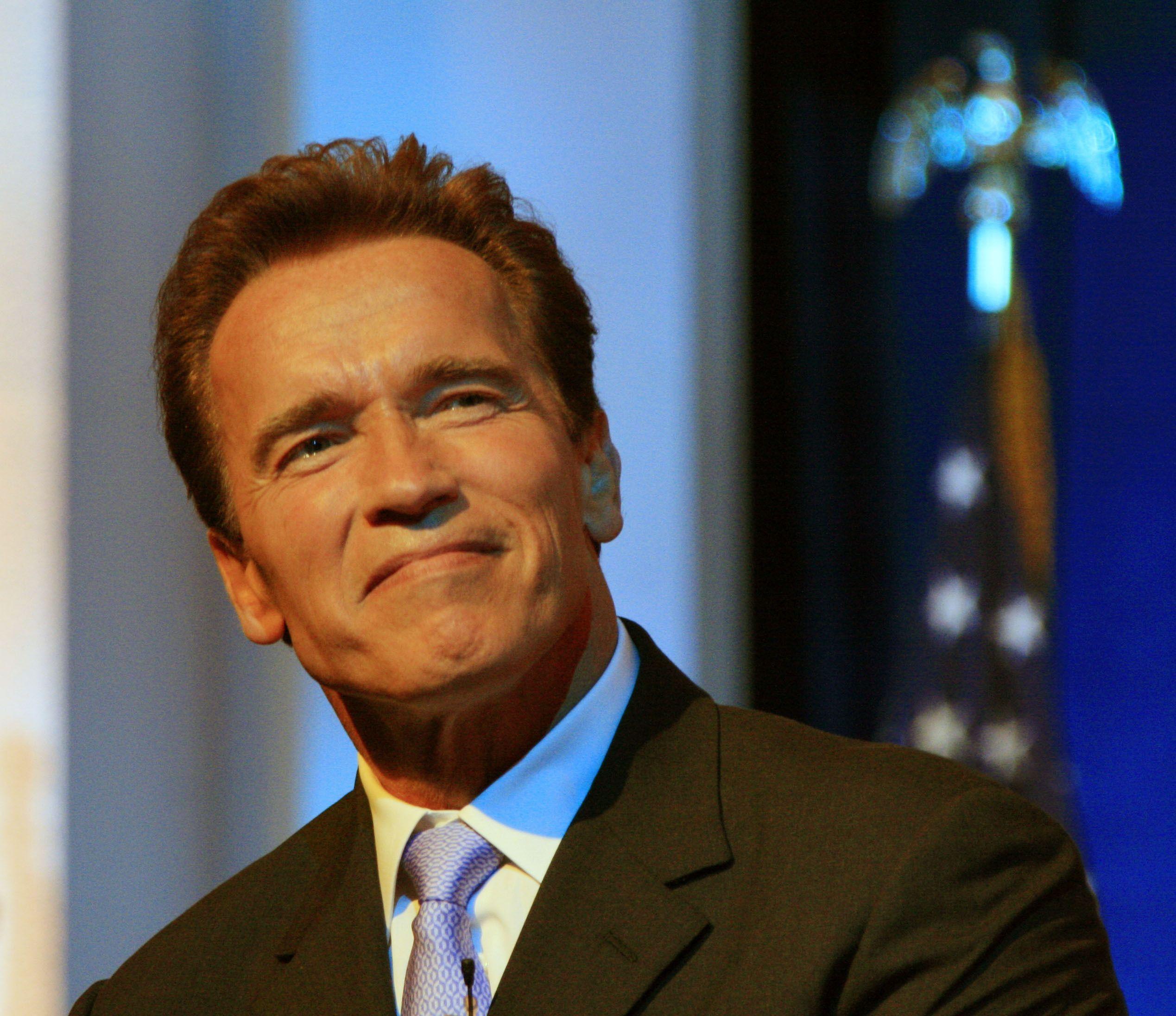 3. Arnold Schwarzenegger