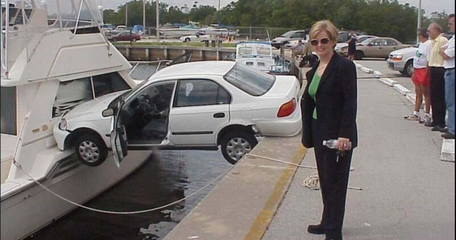 10 of the Worst Drivers Ever Caught on Film