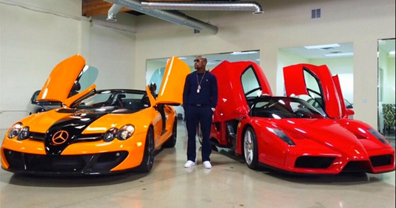 Top 10 Biggest Athlete Car Collections