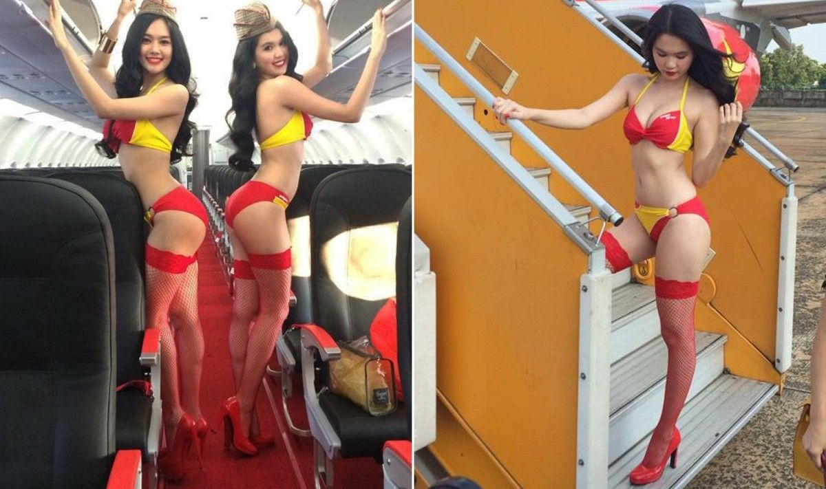 The World's 10 Hottest Flight Attendant Selfies