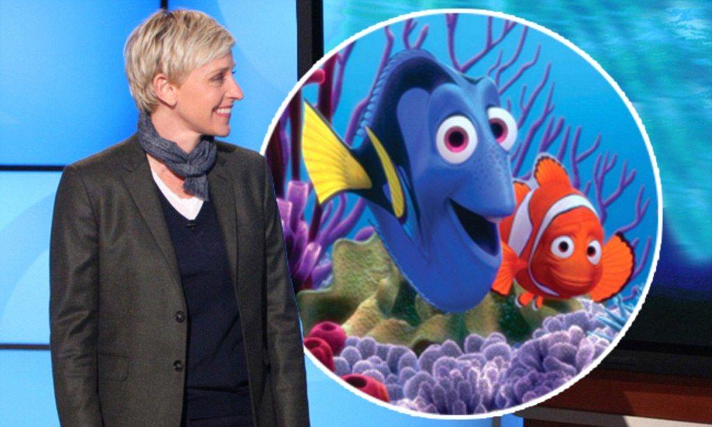 3. Ellen DeGeneres – Dory