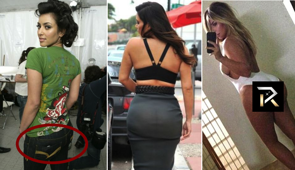 14 Shocking Photos That Prove Kim Kardashian's Butt Is Fake
