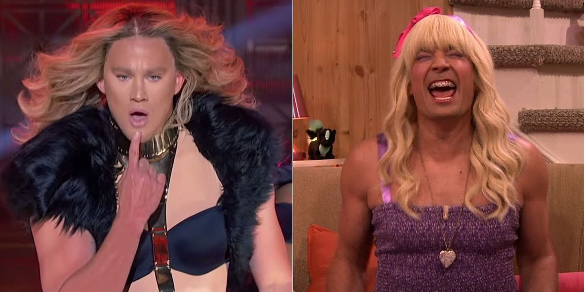 15 Celebs Who've Crossdressed For TV