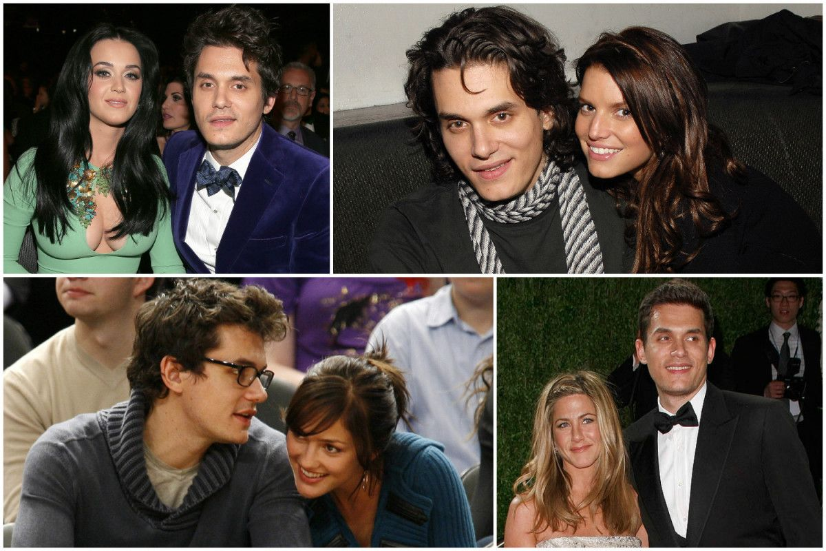 The 17 Women Of John Mayer's Little Black Book