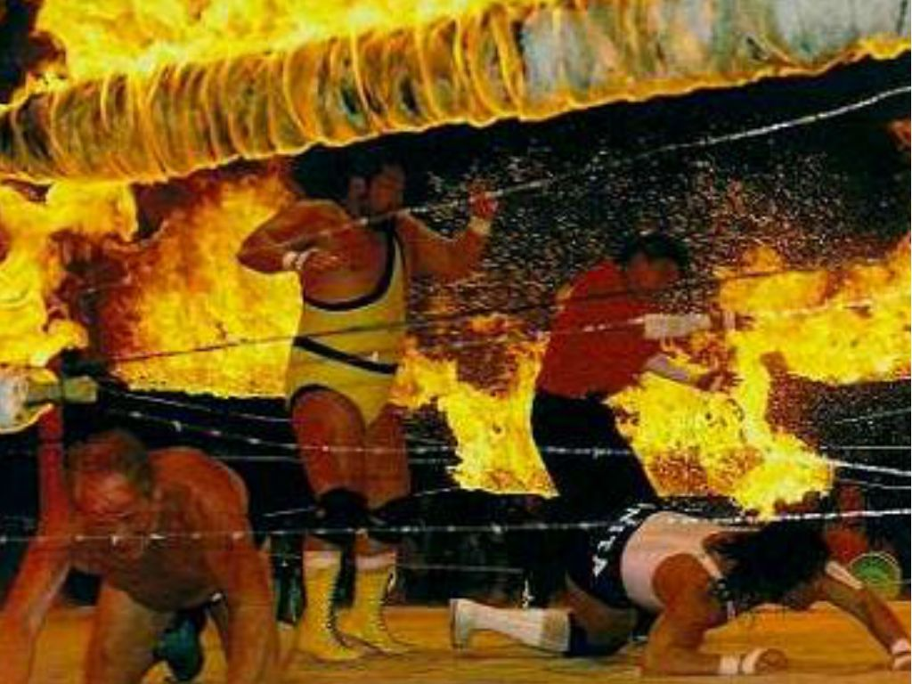 15 Dangerous Places You Won't Believe Pro Wrestling Matches Actually Took Place