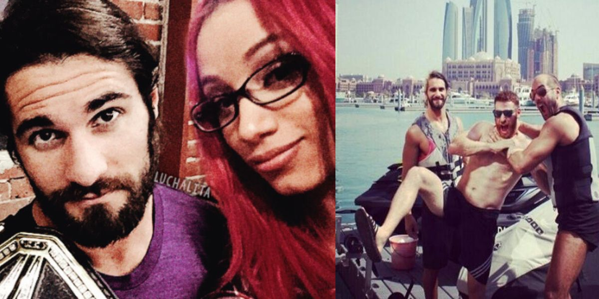 Seth Rollins And His Family