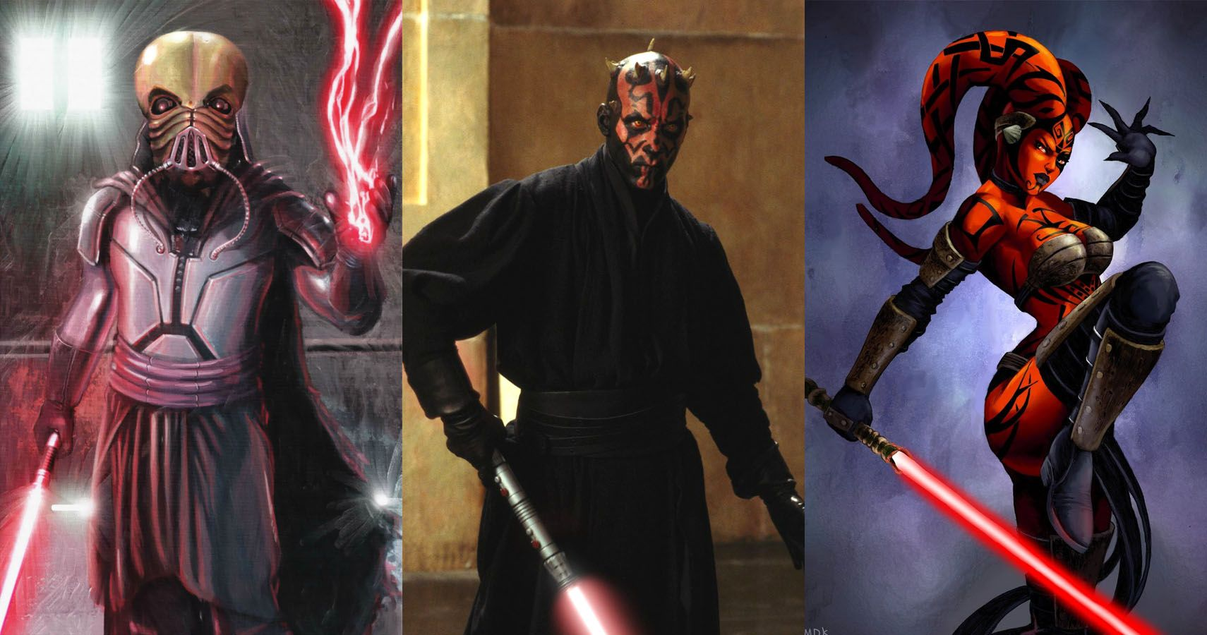 15 Alien Species That Have Become Sith Lords Therichest