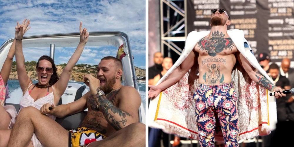 60c07e92 Conor McGregor Can't Afford A $590 Million Superyacht, So He Bought These  15 Other Expensive Things Instead