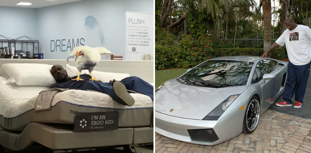 Shaq S Custom Made Bed 20 Other Things About His House And Lifestyle