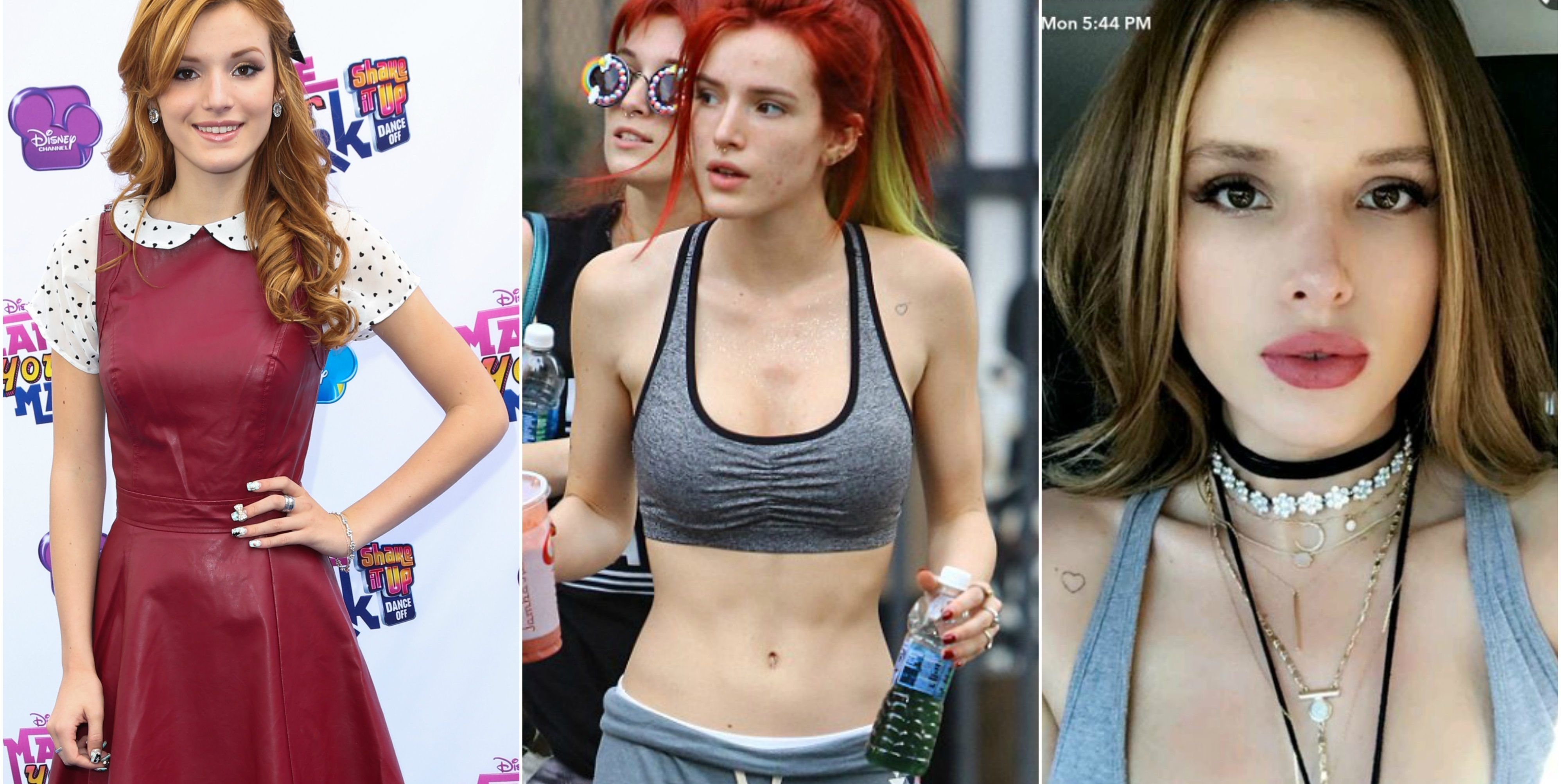 40fa64faae3 25 Images Of Bella Thorne Doing A 180 From Disney To Now