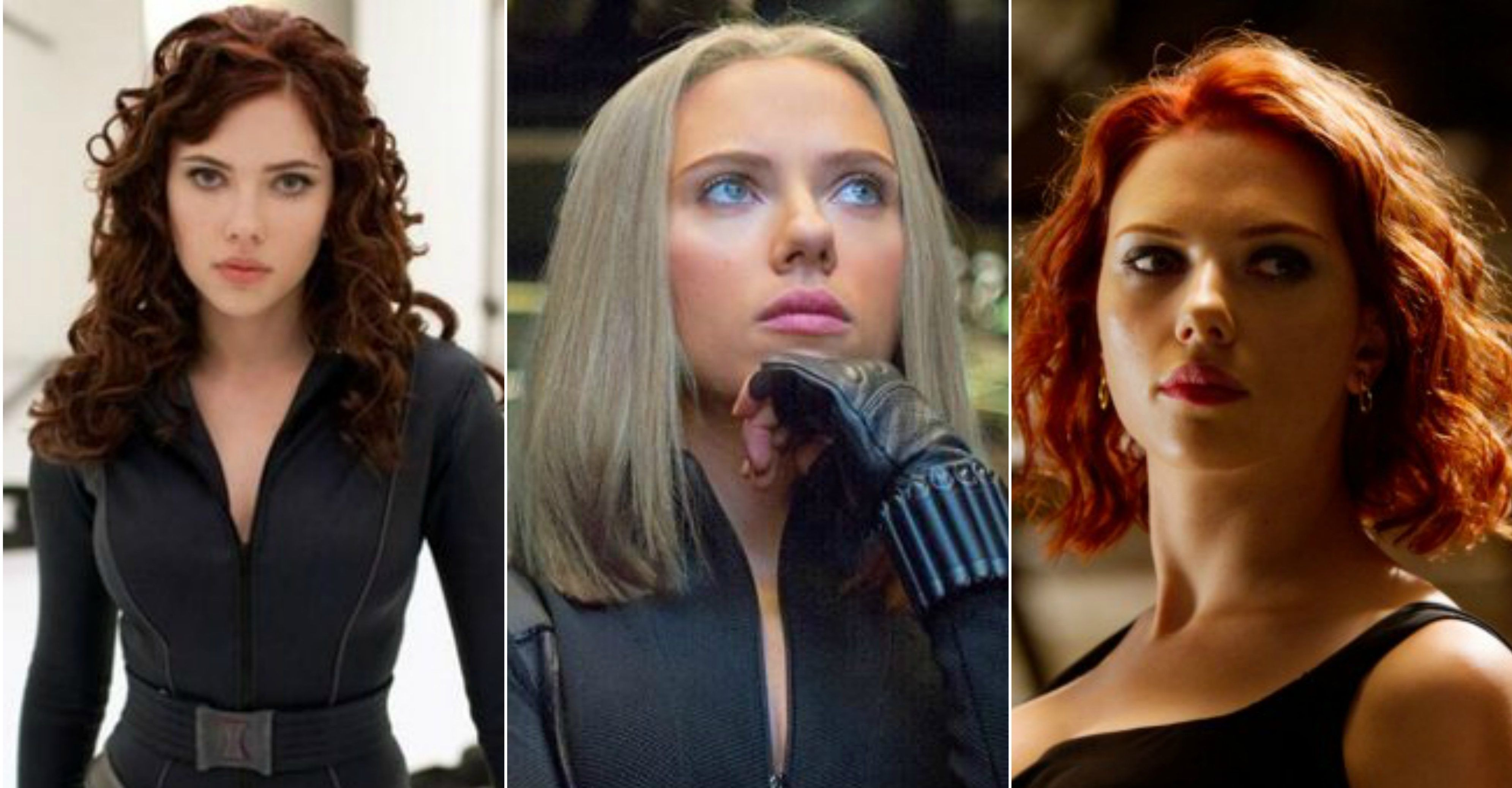 10 Times Black Widow Rocked Her Red Hair And 6 Times She
