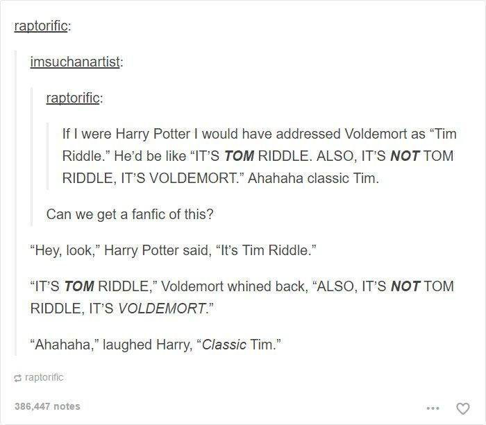 20 Harry Potter Character Posts From Tumblr That Has Fans