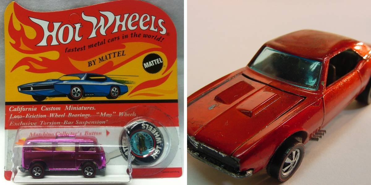 20 Hot Wheels Toy Cars That Are Worth A Small Fortune In 2018