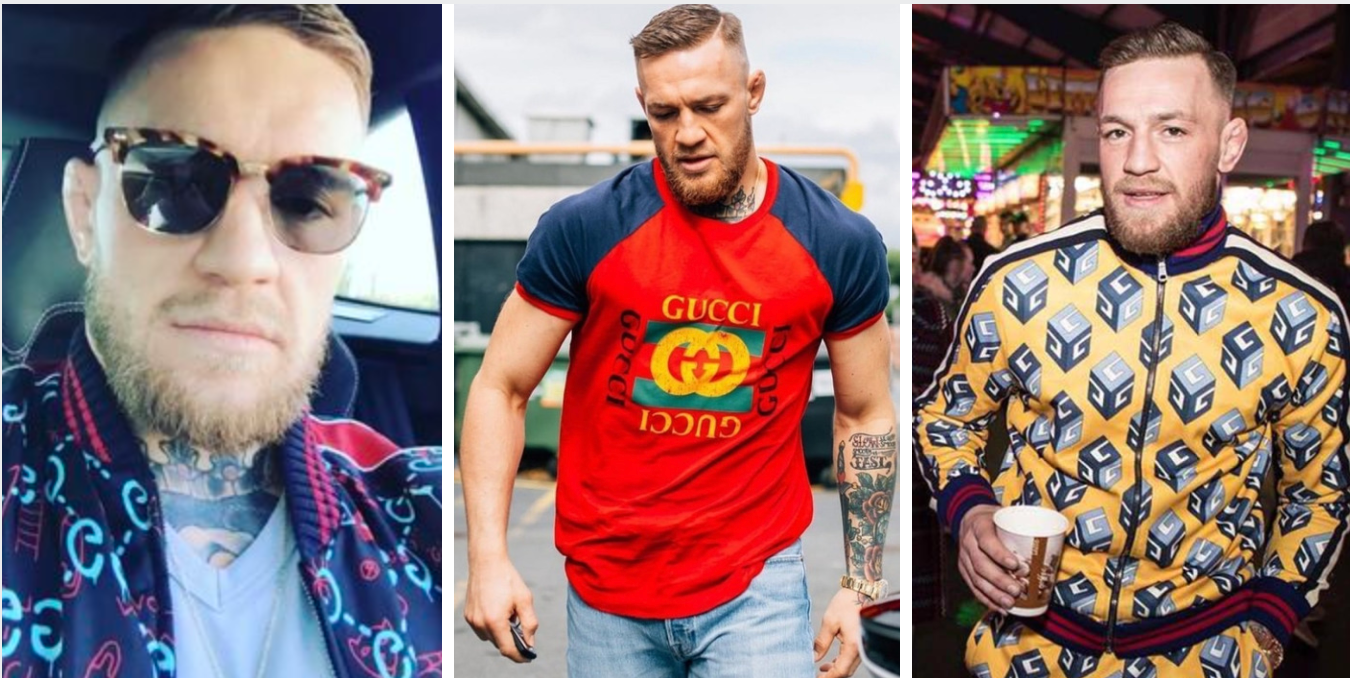 267428e81 UFC Baller: 20 Unusual Gucci Things Only Conor McGregor Can Pull Off