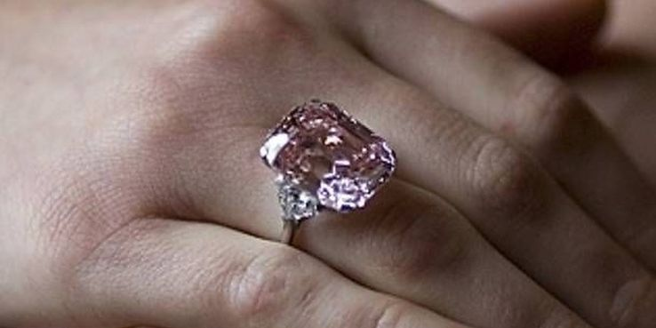 The Graff Pink Ring