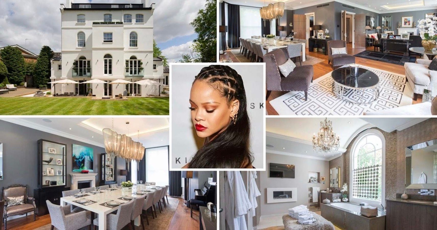 Rihanna's London Home Is Being Sold For $41 million