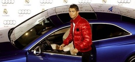 The Car Collection of Cristiano Ronaldo